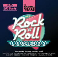 Various Artists : Rock 'N' Roll Legends CD Box Set 10 discs (2011) ***NEW***