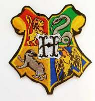 Harry Potter Hogwarts Iron On Patch Sew On Embroidered Patch