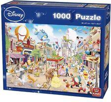 King Disney Disneyland 1000pc Pieces Jigsaw / Puzzle NEW