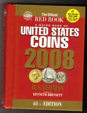 RED BOOK: GUIDE TO U. S. COINS  2008 HIDDEN COIL SPINE  61st EDITION