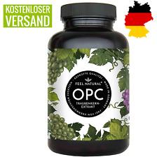 OPC Traubenkernextrakt 240 Kapseln. Höchster OPC Gehalt nach HPLC Premium Vegan