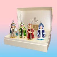 Fairytale Round Dance - Luxury Russian handmade glass Christmas tree ornament