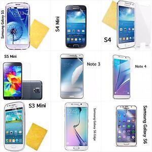 Samsung Galaxy Mini & Note screen protectors wholesale various models