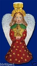 *Radiant Angel* [52070] Old World Christmas Glass Light Cover - NEW