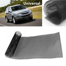 Universal Car Front Grille Mesh Bumper Rhombic Sheet Metal Alloy Net 100 x 33cm