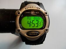 TIMEX EXPEDITION LADIES DIGITAL WATCH BLACK & GRAY  -  PRE-OWNED