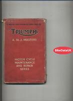 Triumph SV OHV 3HW Speed-Twin Tiger 100 3T 5T (1937-1952) Pearson's Manual DH06