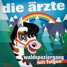 DIE ÄRZTE Waldspaziergang mit Folgen * CD 2013 Videos Bonus * Bela Farin Rod NEU