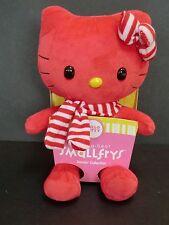 Build a Bear Red Hello Kitty Smallfrys Doll stuffed animal toy NEW plush scarf