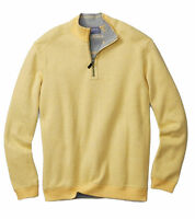 Tommy Bahama BT216026 Villa Heather Flip Side Pro Reversible 1/2 Zip Sweater