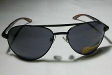 Foster Grant Mens Black Aviator Classic Sunglasses 239