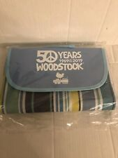 WOODSTOCK COLLECTIBLES:  '50 Years Anniversary' Blanket