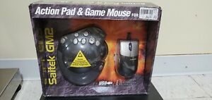 Vintage Saitek GM2 Action Pad & Mouse PC/USB, New In Package