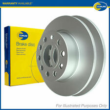Fits Audi A6 C5 Genuine Comline 5 Stud Rear Solid Brake Discs
