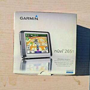 Navteq Portable Garmin Nuvi 265T GPS Great Working Condition Complete in Box