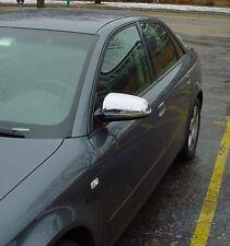 Audi A3 Chrome Wing Mirror Covers Acier Inoxydable 2000 - 2008 Modèles