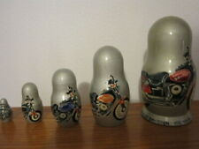 Rare Harley Davidson 100 Years FXDX DYNA Hand Painted Motorcycles Made In Russia