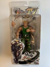 """In STOCK NIP NECA Street Fighter IV 4 """"Guile"""" Action Figure"""