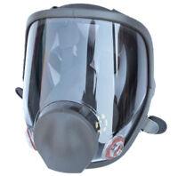 Full Face Gas Mask Painting Spraying Respirator Similar for 3M 6800 Facepiece