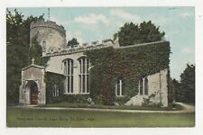 Hengrave Church Nr Bury St Edmunds Vintage Postcard 309a