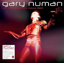GARY NUMAN - LIVE AT HAMMERSMITH ODEON 1989   CD+DVD NEW+