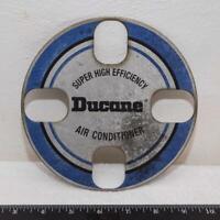 Vintage Ducane Air Conditioner Metal Emblem Badge g25