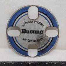 Vintage Ducane Air Conditioner Metal Emblem Badge g25