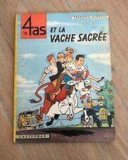 RARE BD Craenhals 4 As n°3 Vache Sacrée EO 1964 apparition Tintin BE