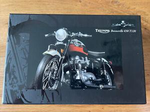 Minichamps 1/12 Scale Triumph Bonneville 650 T120 In Tangerine