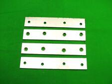 pack de 6 Zinc Plaqué Tee-shirt plaque T forme Support plat Clôture panneau fixation 75 mm