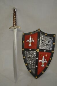 ONE SET Lord Of the Ring  Memory Foam  Sting Sword&Shield Kids Love