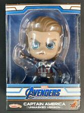 Cosbaby Marvel Avengers Endgame Captain America Unmasked Version Hot Toys New