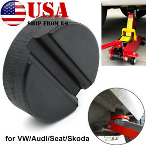 Jack Rubber Pad Disk Jacking Stands Slotted Rail Adapter For VW Seat Audi Skoda