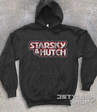 Unisex Sweatshirt Starsky & Hutch Logo Antique Telefilm Cult Ages 70 Ford Dobey