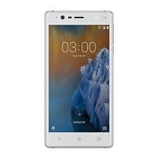 Nokia 3 UK-SIM Teléfono Inteligente Libre-Blanco