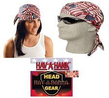 USA US FLAG Multi Tossed AMERICAN FITTED TIED BANDANA Head Skull Cap DOO DO Rag