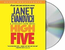 HIGH FIVE JANET EVANOVICH STEPHANIE PLUM 3 CD's FREE USPS ship track confirm NIB