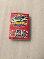 1991 Baseball All Stars U.S. Playing Card Co. Unopened deck of cards NRMT