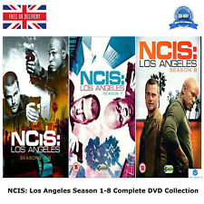 NCIS Los Angeles - Season 1-8 + Bonus Features Complete Collection NEW UK R2 DVD