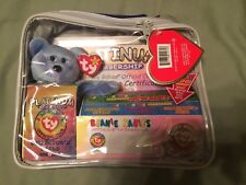 TY BEANIE BABIES Official Club PLATINUM Edition Membership Bag w/GOLD COIN