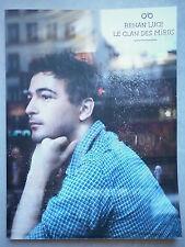 Renan Luce partition piano, guitar, chant Le Clan Des Miros