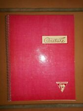Ancien cahier de couture Clairefontaine vierge