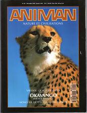 LIVRE REVUE ANIMAN NATURE ET CIVILISATIONS N°50 1994-1995
