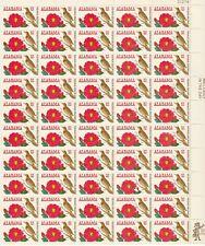 USA # 1375 6c ALABAMA STATEHOOD (1969) Complete Sheet of 50 Stamps, MNH