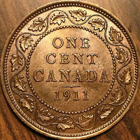 1911 CANADA LARGE CENT PENNY LARGE 1 CENT COIN - Uncirculated