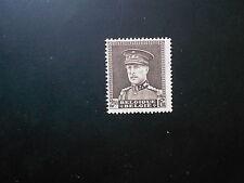 322A xx MNH 2,50F Bruin - brun Albert I kepi - casquette