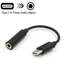 USB-C type to3.5 mm audio cable adapter aux écouteurs Jack fr Google pixel 2 2XL