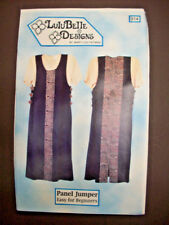 Easy Lulu Belle Panel Jumper pattern 914 uncut size 6 8 10 12 14 16 18 20 24