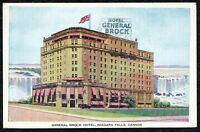 Vintage Postcard, General Brook Hotel, Niagara Falls, Canada - Printed in Canada