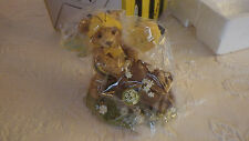 Bearly Bees Bears 31481 Honey Bear Goes To Market Figurine Nib New